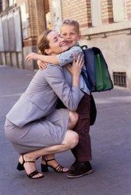 Un trabajo de enseñanza se adapta bien al horario de las madres.