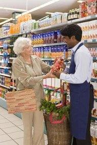 Los supermercados son los negocios tradicionales de ladrillo y cemento.