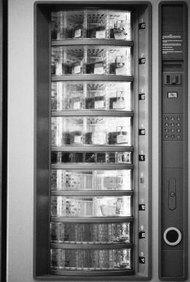 Comienza tu propio negocio de máquinas expendedoras.