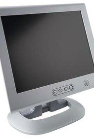 Cómo conectar una televisión LCD Sharp a una PC.