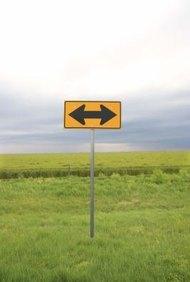 Los malos tomadores de decisiones no saben qué camino tomar.