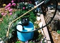 Clean a Garden Sprayer