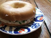It is easy to toast a bagel.