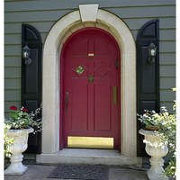 A Very Regal Arched Front Door