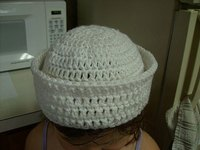 Crochet a Child's Sailor Cap