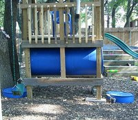 Make a 6-foot Wide Tunnel for a Playscape