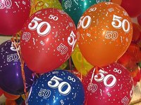 Celebrate your 50th birthday with style. If life begins at 40, 50 is the new 20.