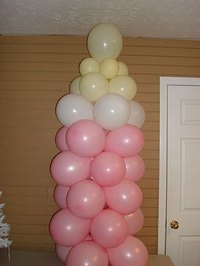 Make a Balloon Baby Bottle for Showers