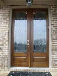 Restain a Wood Door