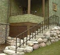 Install Your Own Wrought Iron Handrail
