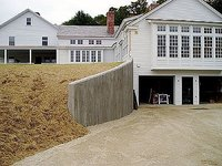 Build Gunite Retaining Walls