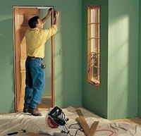 Replace a Door Jamb