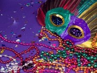 Make a Mardi Gras Mask