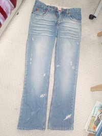Consider reusing old jeans as insulation.