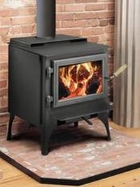 Make a Wood Stove Hearth With Tile
