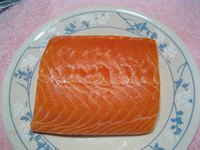Freeze Fresh Salmon