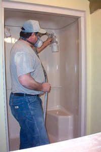 Patching holes in your fiberglass shower is a half-day do-it-yourself project.
