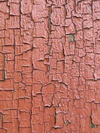 Crackle Painted Surface