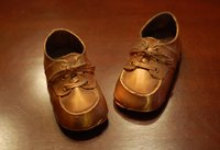 Bronzing your baby's shoes is a great way to remember those little feet forever