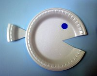 Paper-plate whale