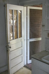 Most Warps Come From Propping Open A Steel Storm Door.