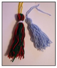 Use tassels to add style, color and fun to home decor.