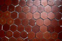 Hexagonal saltillo tile