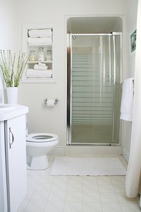 Reducing condensation in the bathroom will lower the risk of mold and mildew.