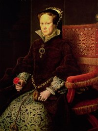 A painting of Queen Mary I, believed to be the inspiration for the Blood Mary game.