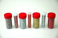 Making silver dust or glitter at home is easy and economical.