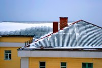 Snow guards prevent an abundance of snow from falling from your roof at once.