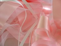 Use ribbon and tulle to create an easy, no-sew tutu.