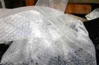 Bubble wrap is an essential packing material in packing art and canvases for shipment.