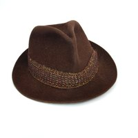 Hat bands add a bit of formality to an otherwise bland hat.