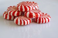 Make ornaments with peppermint candy.