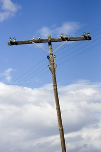 Most utility companies will install and maintain electric poles.