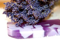 Make your own lavender-scented soap without lye to enjoy a refreshing scent while you moisturize your skin.