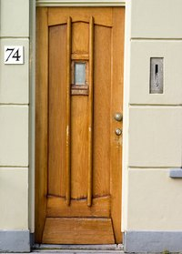 Install A Mail Slot By Your Door.