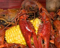 Mud bugs, the quintessential Cajun food.