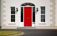 Fiberglass doors are a low-maintenance option, not a no-maintenance option.