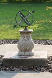 Traditional armillary sundials are prized for their accuracy and their elegant design.