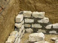 Stone foundations are prone to shifting.