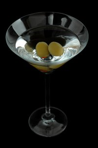 A vodka martini. Shaken, not stirred.