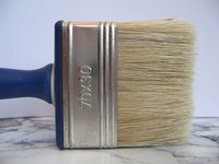 Natural bristle brushes are best for oil-based paint.