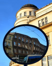 Spherical mirrors are everywhere.