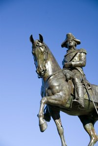 George Washington wore a tricorn hat.