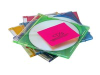 You can make a variety of crafts from CD cases.