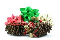 Pine cones make excellent crafting materials once they're cured.