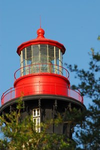 Building a lighthouse beacon is quite a job, but a smaller rotating light can be a home project.