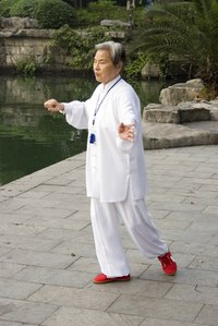 Tai chi uniforms reflect the elegant serenity of the spiritual practice for which they are worn.